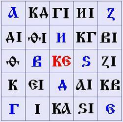Образные кружали - Древнерусский язык