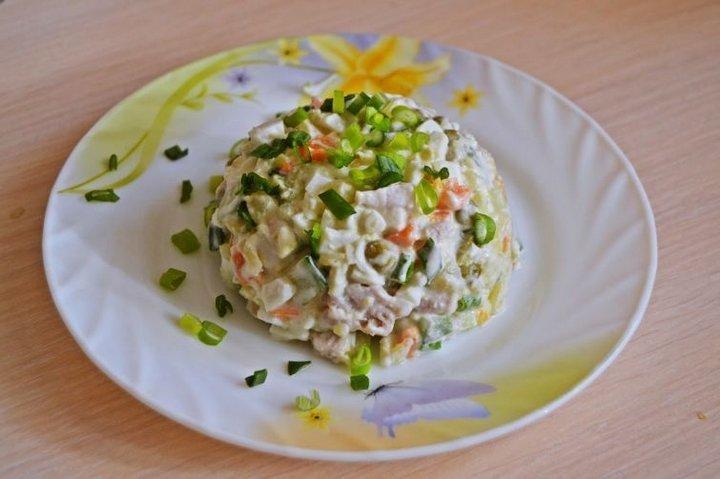 Салат мясо по-русски фото
